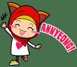 Cute K-Pop Hijab sticker #14710326