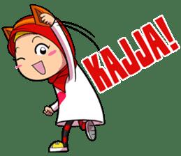 Cute K-Pop Hijab sticker #14710328