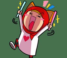 Cute K-Pop Hijab sticker #14710345
