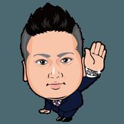สติ๊กเกอร์ไลน์ Hideo Niijima's Sticker