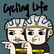 สติ๊กเกอร์ไลน์ the cycling life of a struggling Knight7