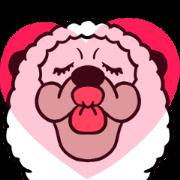 สติ๊กเกอร์ไลน์ Smiling Alpaca 5