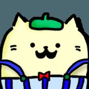 สติ๊กเกอร์ไลน์ Neko Nyan's daily life 2 (talk)