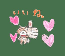 small cute shiba inu sticker #14721111