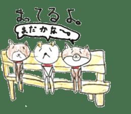 small cute shiba inu sticker #14721118
