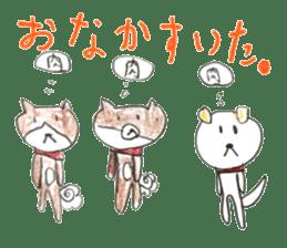 small cute shiba inu sticker #14721130