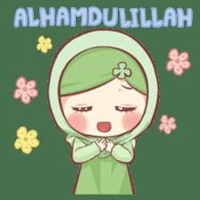 Centilia's Friends : Clovy (Hijab) sticker #14721854
