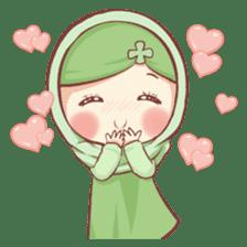 Centilia's Friends : Clovy (Hijab) sticker #14721857