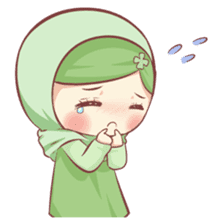 Centilia's Friends : Clovy (Hijab) sticker #14721859