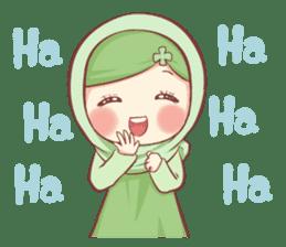 Centilia's Friends : Clovy (Hijab) sticker #14721860