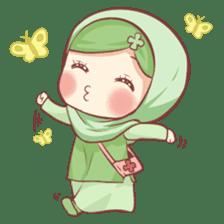 Centilia's Friends : Clovy (Hijab) sticker #14721863