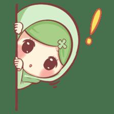 Centilia's Friends : Clovy (Hijab) sticker #14721867