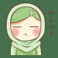 Centilia's Friends : Clovy (Hijab) sticker #14721872