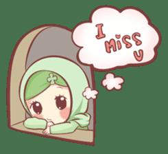 Centilia's Friends : Clovy (Hijab) sticker #14721876