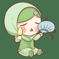 Centilia's Friends : Clovy (Hijab) sticker #14721884