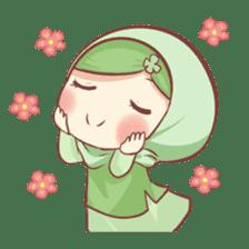 Centilia's Friends : Clovy (Hijab) sticker #14721887