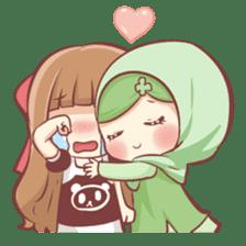 Centilia's Friends : Clovy (Hijab) sticker #14721889