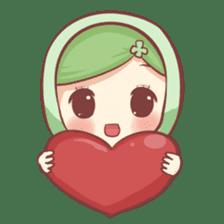 Centilia's Friends : Clovy (Hijab) sticker #14721890