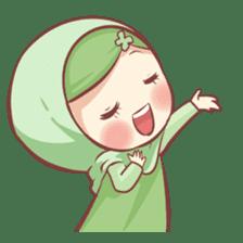 Centilia's Friends : Clovy (Hijab) sticker #14721891