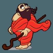 สติ๊กเกอร์ไลน์ Indian Master