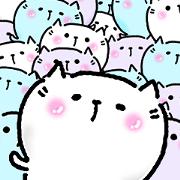 สติ๊กเกอร์ไลน์ Neko Nyan's everyday 3 (Nakayoshi san)