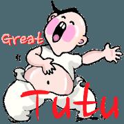 สติ๊กเกอร์ไลน์ Great Tutu