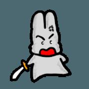 สติ๊กเกอร์ไลน์ Yanghane'sRabbit4