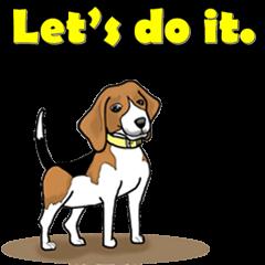 Enjoy Beagle(Beagle Animation)