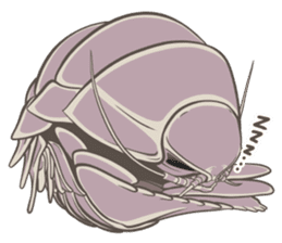 Giant isopod Stickers sticker #14729688