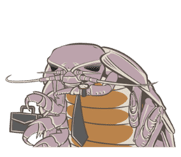 Giant isopod Stickers sticker #14729692