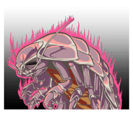 Giant isopod Stickers sticker #14729707