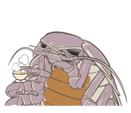 Giant isopod Stickers sticker #14729708