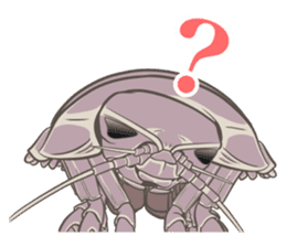 Giant isopod Stickers sticker #14729711