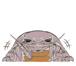 Giant isopod Stickers sticker #14729712