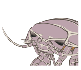 Giant isopod Stickers sticker #14729716