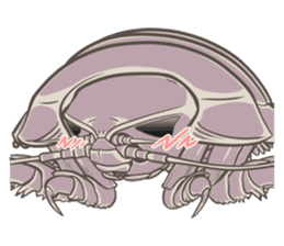 Giant isopod Stickers sticker #14729717