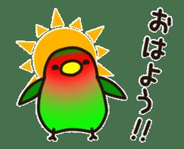Lovebird [Ver7](move/start and close) sticker #14731815