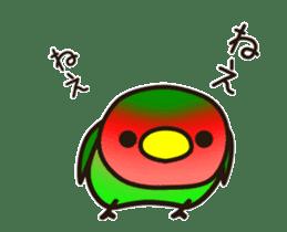 Lovebird [Ver7](move/start and close) sticker #14731821