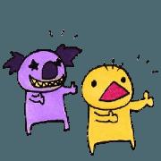 สติ๊กเกอร์ไลน์ Fight of Tasan 5(clown)