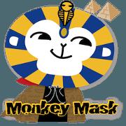 สติ๊กเกอร์ไลน์ Monkeymask