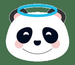 Cute Panda Faces sticker #14738896