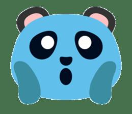 Cute Panda Faces sticker #14738899