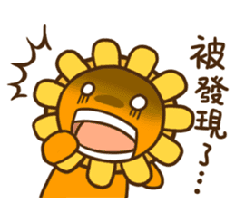 Flower & Banana sticker #14739836