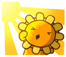 Flower & Banana sticker #14739863