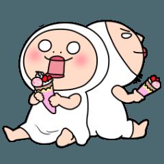 Shirome&Omame no sweets,no life