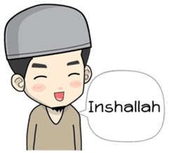 Mr. Bang Muslim Man sticker #14756952
