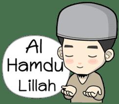 Mr. Bang Muslim Man sticker #14756956