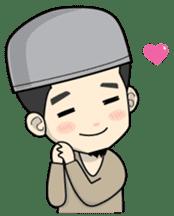 Mr. Bang Muslim Man sticker #14756957