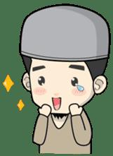 Mr. Bang Muslim Man sticker #14756966