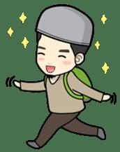 Mr. Bang Muslim Man sticker #14756976